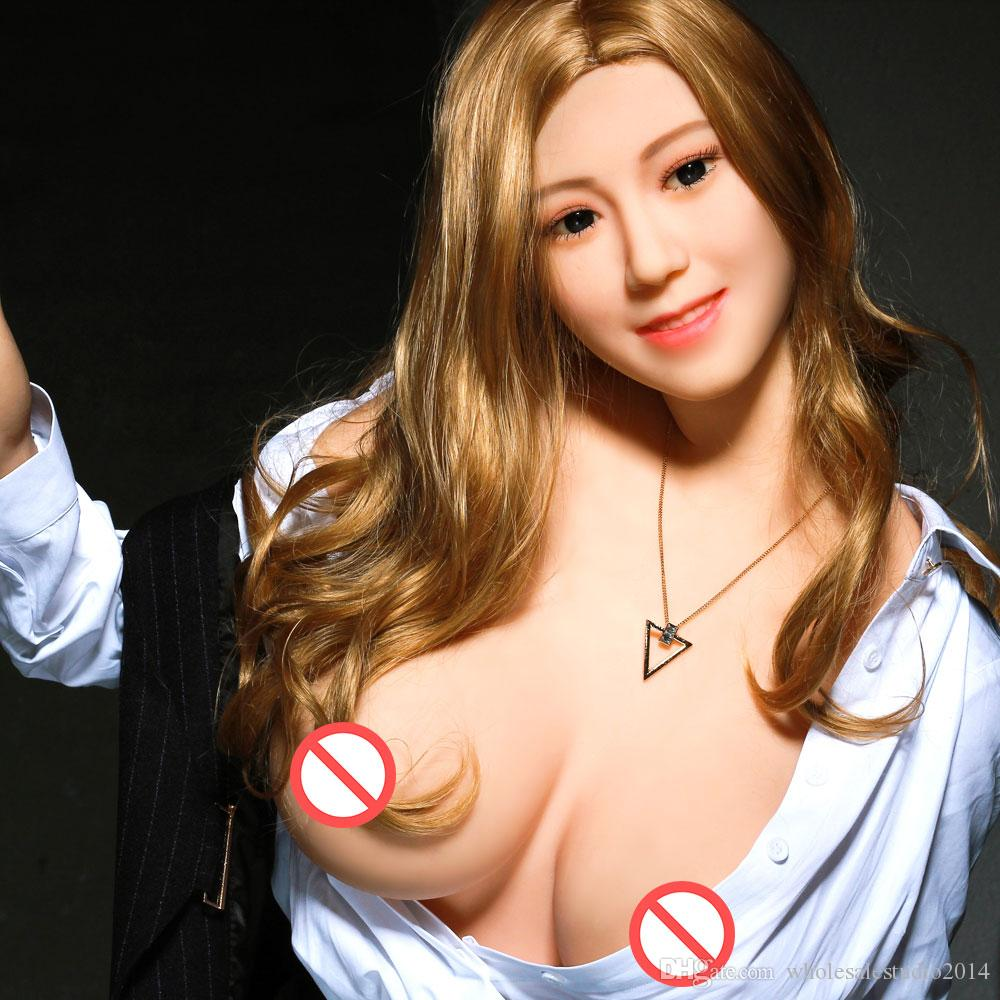Japanese silicone TPE sex doll 168cm fashion model adult mouth vaginal anal sex doll sexy toy big breasts big butt men's doll