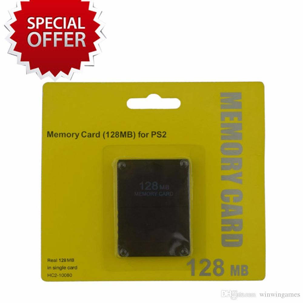 8M/16M/32MB/64MB/128MB Game Memory Card Save Game Data Stick Module Extended Storage Card For Sony PlayStation 2 PS2