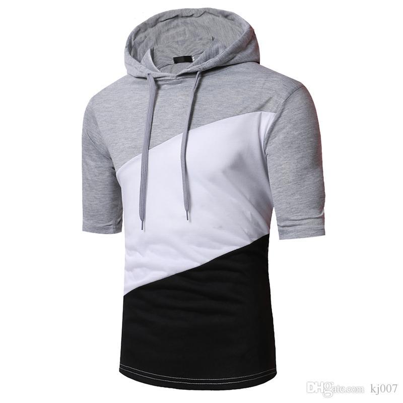 Хип-хоп свитер с длинным рукавом для мужчин с капюшоном с капюшоном Пуловер мужской пуловер свитер Спортивная толстовка с капюшоном Хип-хоп толстовки Горячие продаж