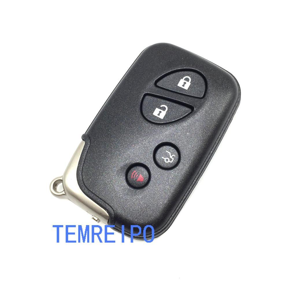 4 Кнопки Дистанционного Смарт-Ключа Автомобиля Чехол Shell Для Lexus