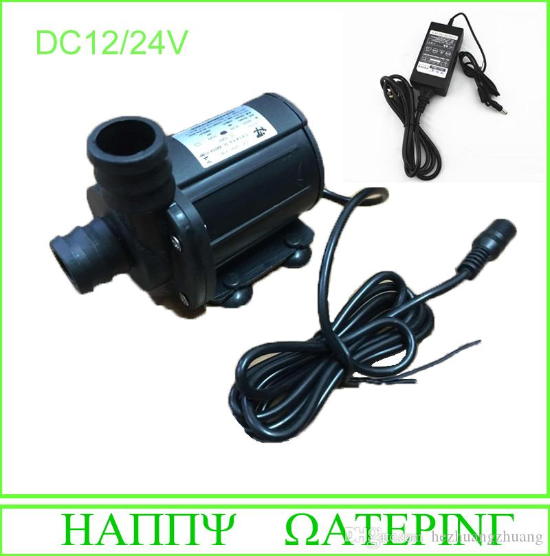 1000A Type 36W/84W Brushless Water Pump 12V Booster Pump Amphibious + AC Adapter Free Shipping