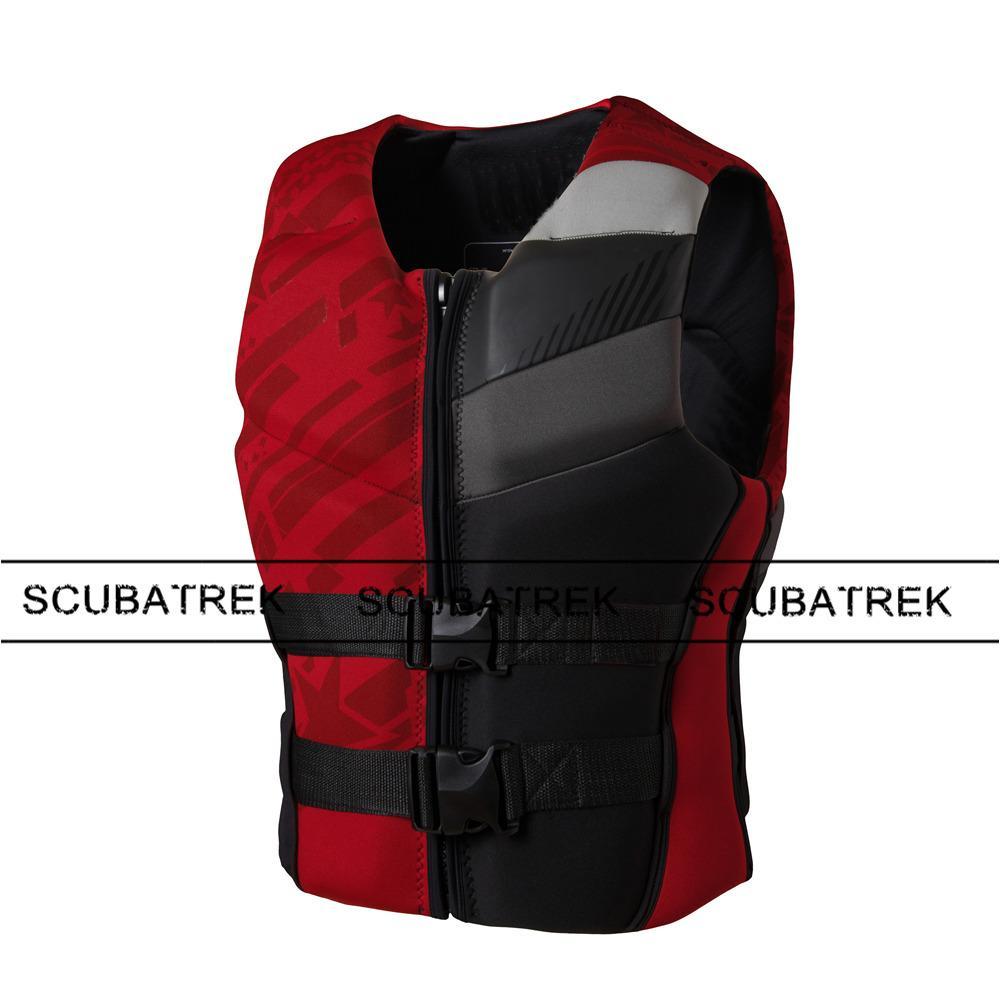 float swimsuit adult life vest neoprene floating vest swim life jacket surfing vests waterski inflatable water sailing jacket