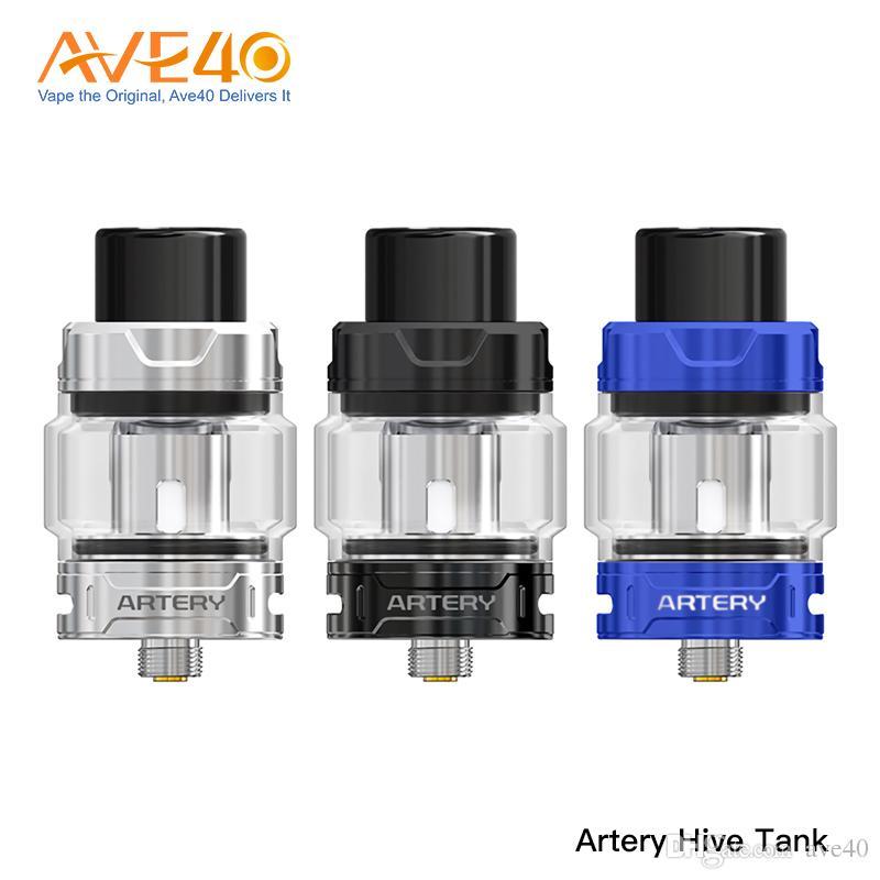 Artery Hive Mesh Tank 4ml Capacidad Con bobina de malla Mejor para Hive 200 Mod E cigarrillos Tank Atomizer 100% Original