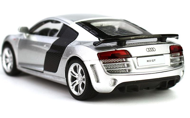 Modèle Au Ouvrez Enfants Retour Moteur Audi R8 Acheter Réaliste Et Lumière Porte De Voiture Son Jouets 1 La Pour 32 Alloy Pouvoir c4q35ALSRj
