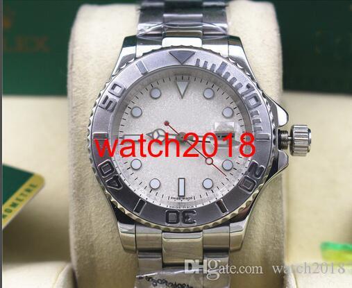 Luksusowy zegarek 116622 Męski ze stali nierdzewnej Platinum 40mm Platinum Dial Automatyczny mechaniczne mężczyźni zegarki najwyższej jakości