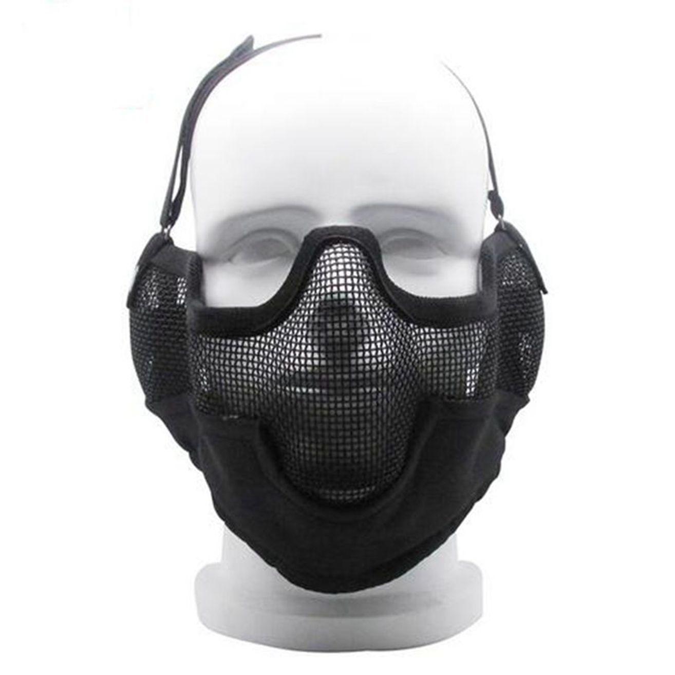 Neu Taktisch Airsoft Metallnetz Protective Brille Brille Leicht Kein Nebel Sonstige Sport Wbcboxing Com