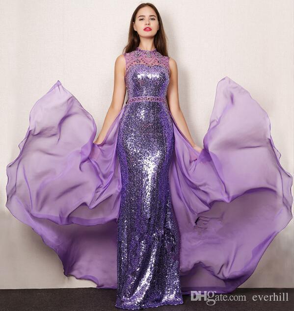 JaneVini Custom Mermaid Evening Dresses Beaded Luxury Crystal Long Prom Dresses Arabic Elegant Women Formal Party Gowns Lange Jurken 2018