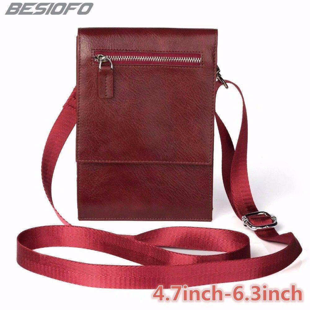 Zipper Holster Cover Double Pockets Pouch With Belt Shoulder Bag Phone Case For Samsung Galaxy J1 J2 J3 J4 J5 J6 J7 J8 2017 J9