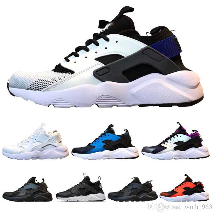 2019 New Top Huarache Ultra 4.0 Running Shoes for men sole Triple White Black Huraches Sports Huaraches Sneakers Harache Mens designer shoes