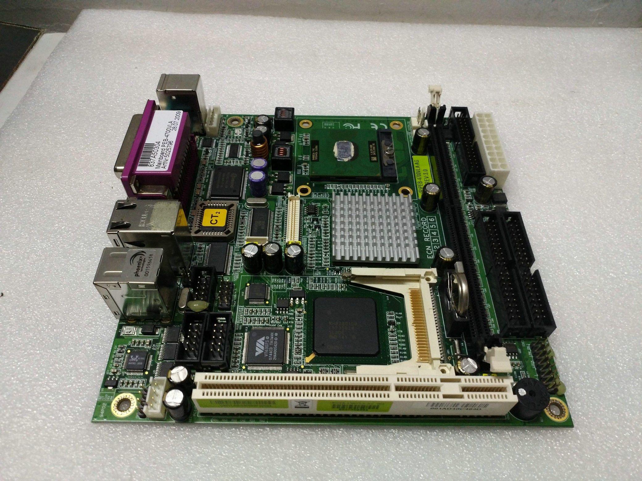Оригинал PEB-4700VLA PEB-4700VLA-AG REV:3.0 промышленная материнская плата тестирование работы