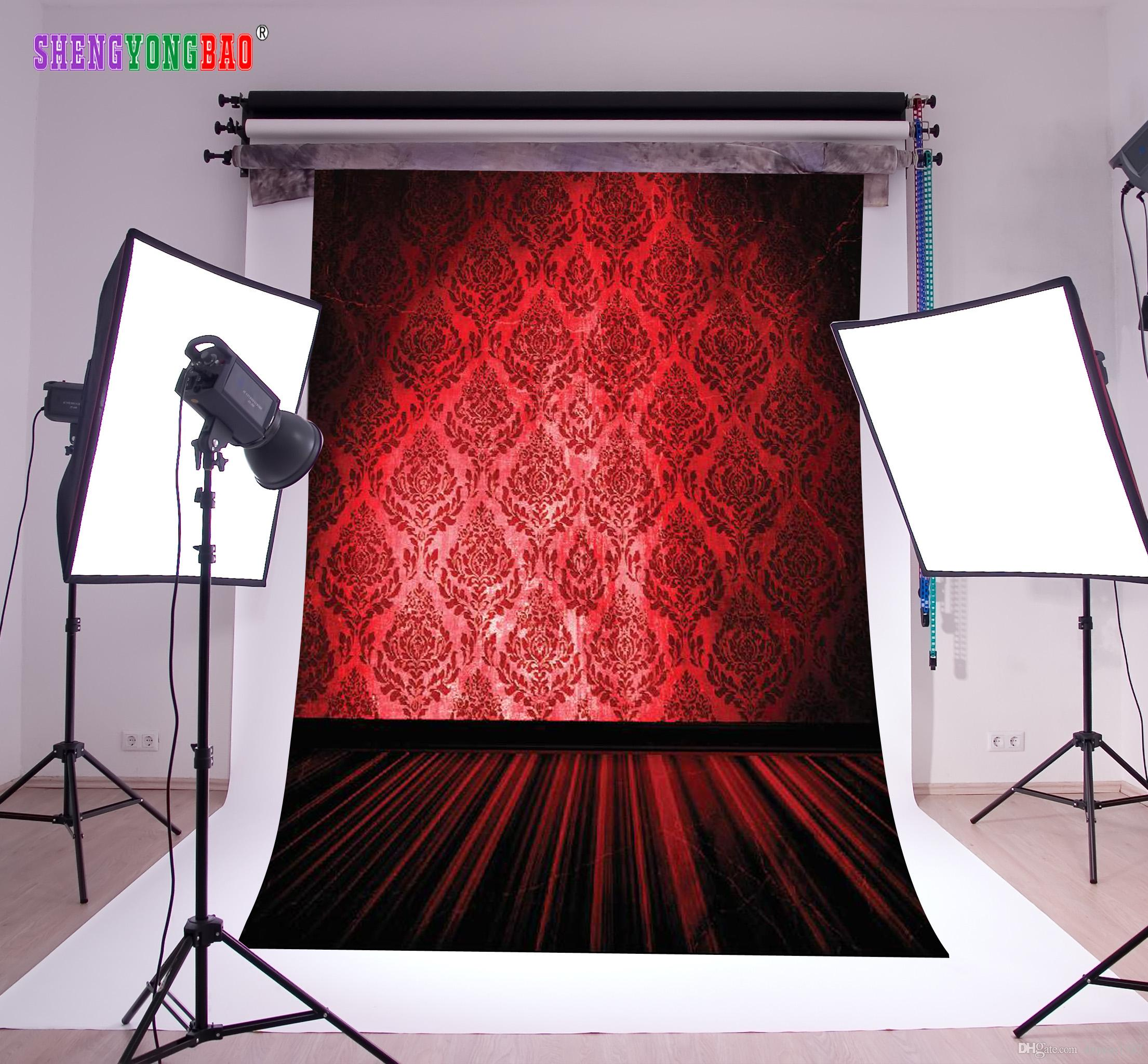 Vinyl Custom Wall and floor stage theme Photography Backdrops Prop Photo Studio Background ZP-154