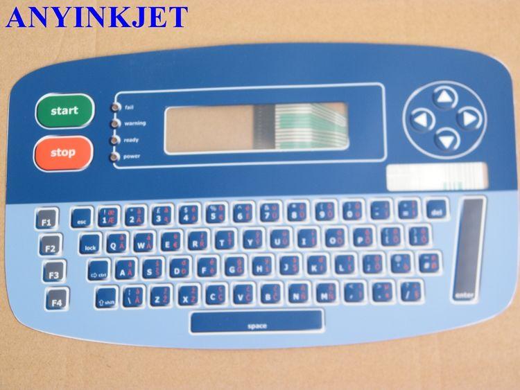 pour l'affichage de clavier d'affichage de clavier d'imprimante de Linx 4900