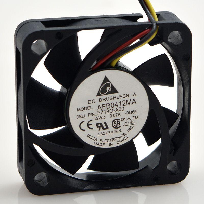 4cM 4010 12V 0.10A AFB0412MA Delta dual ball mute cooling fan