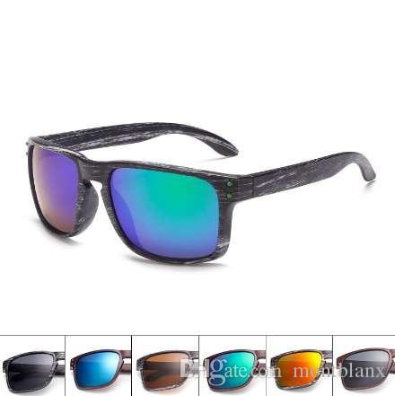 Moda unisex gafas de sol ovales retro mujeres hombre Vintage gafas de sol marrón negro mujer hombre gafas de espejo de conducción deportiva AABA01