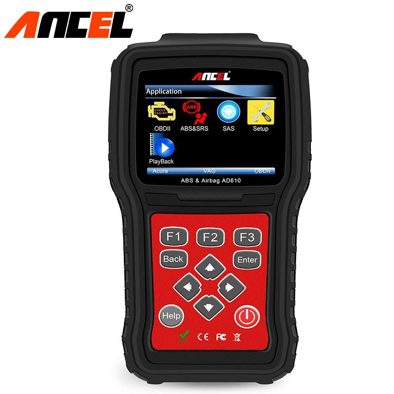 Diagnostic Tool SAS ABS Airbag Reset Autos Scanner Ancel AD610 Diagnostic-tool OBD2 Automative Code Readers Scan Tool in Russian