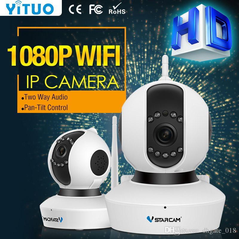 720 P 1080 P Wifi IP Kamera ile 1.0 2.0 Megapiksel P2P Kablosuz IP Kamera mini CCTV Kapalı IP Gözetim Kamera Bebek Monitörü