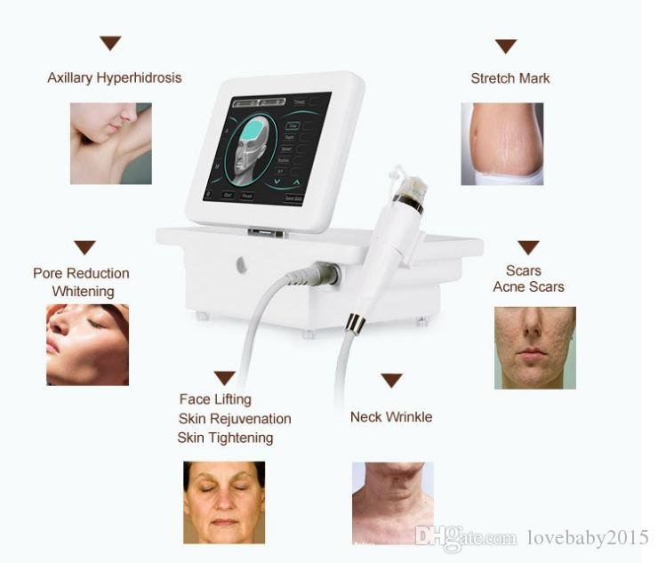 2018 New Version !!! RF Wrinkle Removal Beauty Machine Dot Matrix Facial Skin Care Radio Frequency Face Lifting Skin Tightening RF