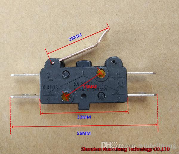 10pcs/lot ! 83106 limit switch micro micro switch 5A 250V~