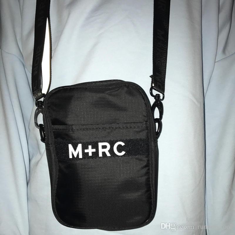 Neue M + RC NOIR Portable Rucksack Cross Body Herren Umhängetasche Aufbewahrungstasche Gürteltasche Männer Leinwand Handy Packs Messenger Bags