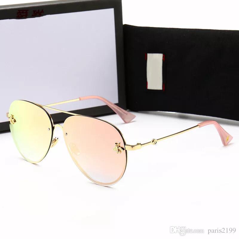 Occhiali da vista di alta qualità Occhiali da vista piccoli occhiali da sole Occhiali da sole con montatura tonda Occhiali da sole americani celebrità di Internet retrò