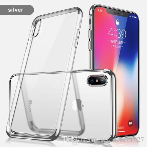 Funda de silicona para iphone 6 s 6S 7 8 X 10 6Plus 6Splus 7Plus 8Plus Funda para Samsung Galaxy S8 Plus S9 Plus Note 8 A3 A5 A7 2017