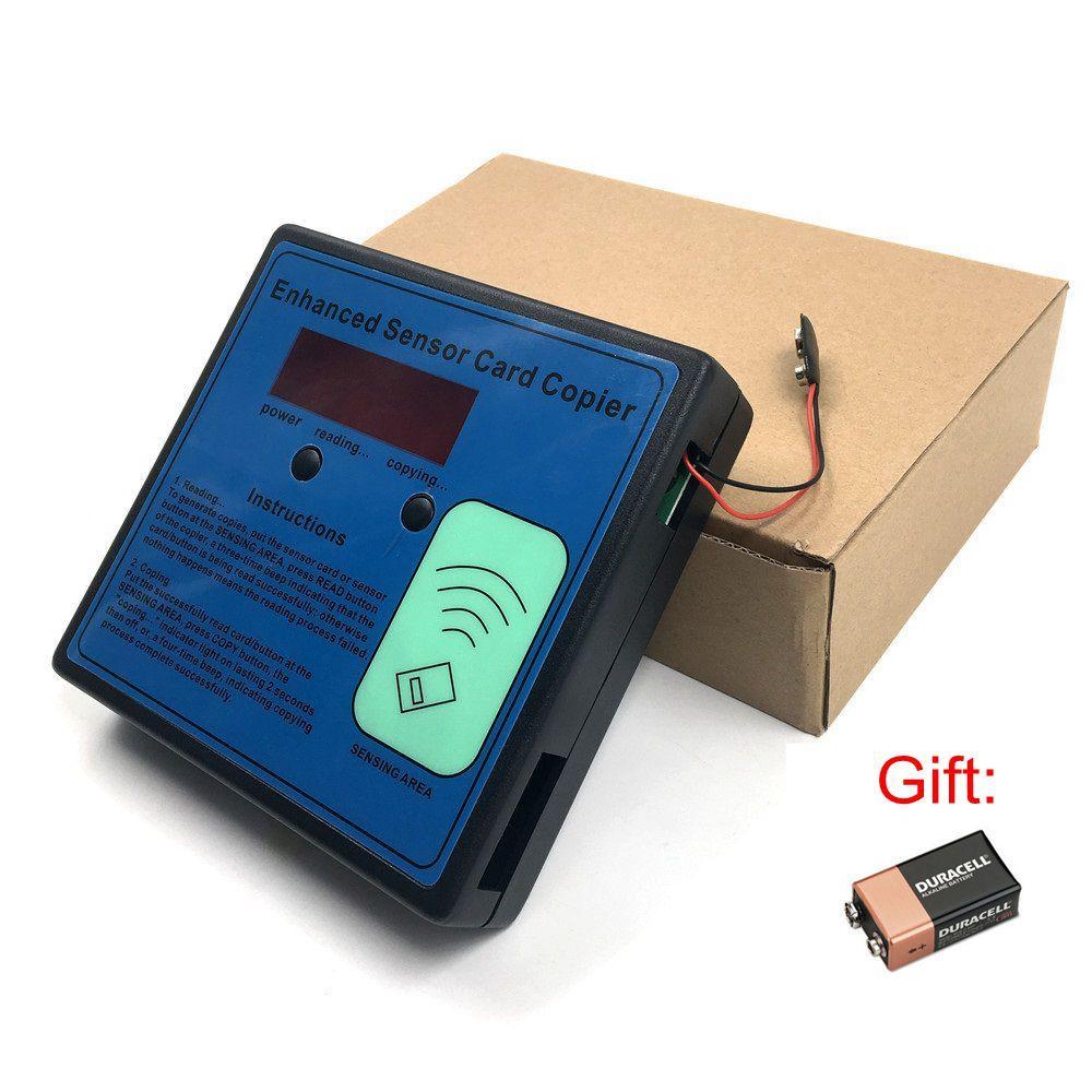 Acartoolservice 1PC وصول وقوف السيارات عضو RF قارئ IC معرف EM الباب الكهربائية بطاقة الناسخ بطاقة الاستشعار المحسن ناسخة