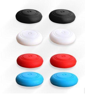 Gomma Silicone Joystick Cap Thumb Stick Joystick Grip Grip Caps per Nintendo Switch NS NX Controller 2000pcs / lot