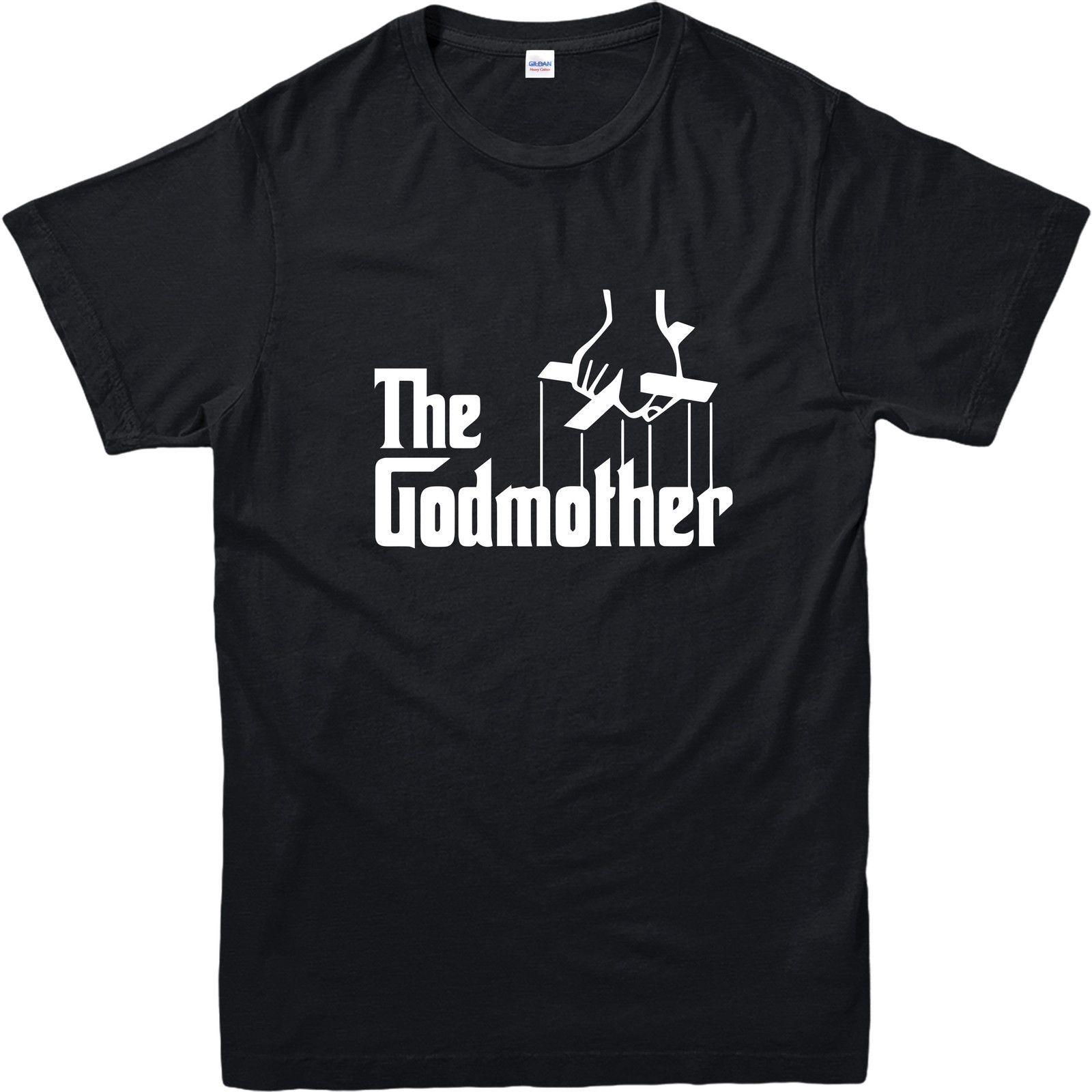 The Godmother Shirt Funny Godfather Parody Tee