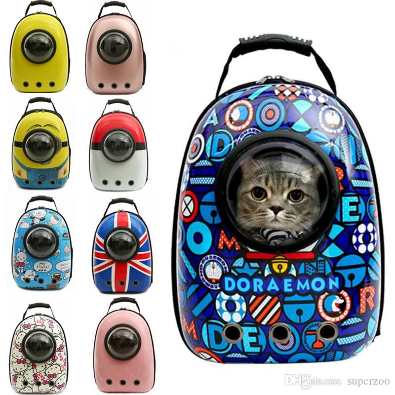 Breathable Space Cabin Pet Cat Carrier Dog Backpack Portable Package Bag Shoulder Travel Tote Luggage Drop Shipping Chihuahua