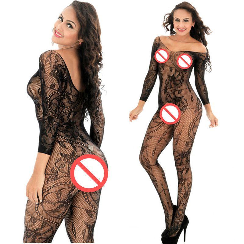 Kadın Sexy Lingerie Bodysuit Sıcak Bodystocking Fishnet Çorap Seksi Kostümleri Iç Çamaşırı Seks Ürünleri Gridding Erotik Iç Çamaşırı Seks Oyuncakları