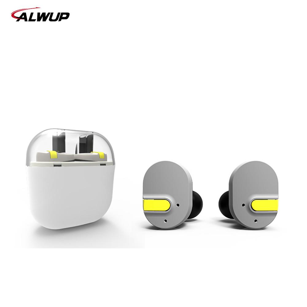 ALWUP UPI8 Auricolare Bluetooth stereo 3D auricolare senza fili auricolare con power bank per Xiaomi iPhone 6 7 android samsung