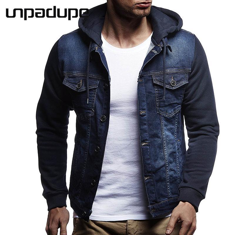 Nuovo Abbigliamento Uomo Jacket 2018 con cappuccio design Bomber tattico incappucciato sottile casuale maschio Poliestere Cappotti Uomini 3XL