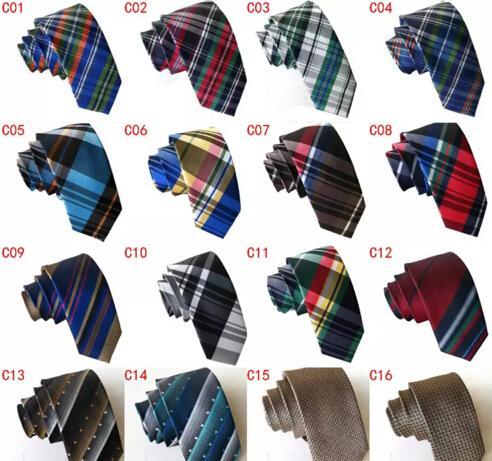 6cm والنساء وربطات عنق دقيق الأزياء البريطانية الكلاسيكية شبكة التعادل منقوش نحيل مدرسة ربطة العنق التعادل ربطة العنق النقاط الأعمال برقبة 22 كولورادو