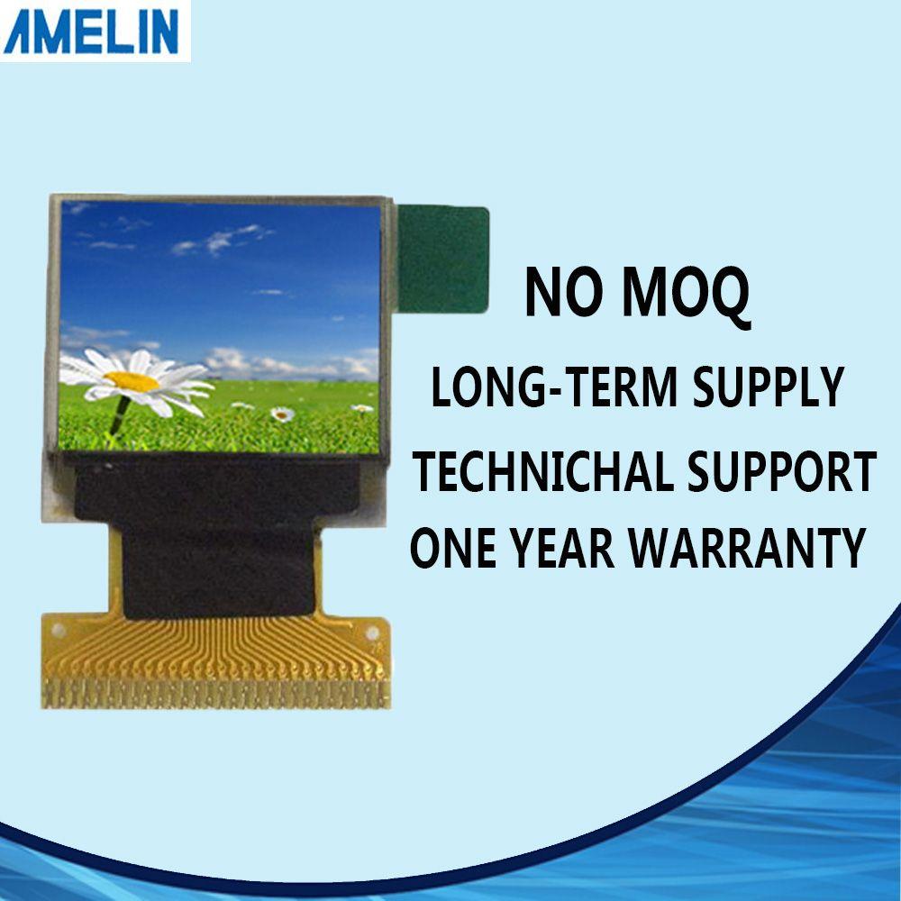Display LCD OLED da 0,66 pollici con risoluzione 64 * 48, schermo quadrato amoled e interfaccia SPI dalla produzione di pannelli amulati shenzhen