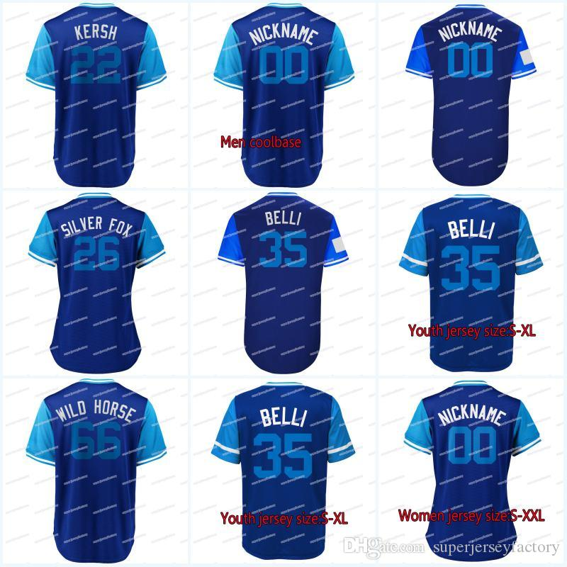 """2018 Players Weekend Jersey 7 URIAS """"EL CULICHI"""" 5 SEAGER """"SEAGS"""" 10 Turner """"Redturn2"""" 57 MADERA """"AWOOD"""" 63 GARCIA """"GARCIA"""" Jerseys"""