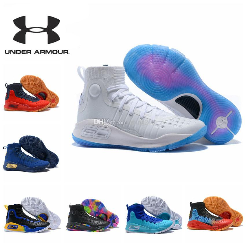 Convertir mecanismo Montañas climáticas  Under Armour Curry 4 Mens Basketball Shoes Sneakers Under Armour UA Curry4  New 2018 Basketball Shoes Sneakers Outdoor Shoes East Bay Shoes Shoes  Sports From Ming210, $51.82| DHgate.Com