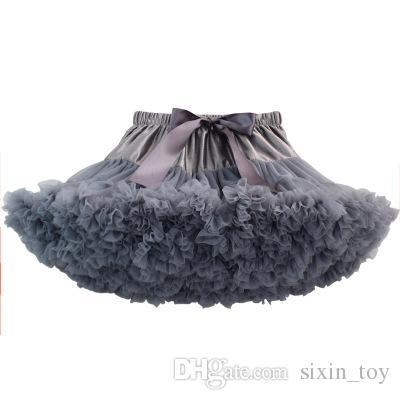 Baby Girls Tutu Skirt Kids Dance Pettiskirt Party Dress Ballet Fluffy Layer