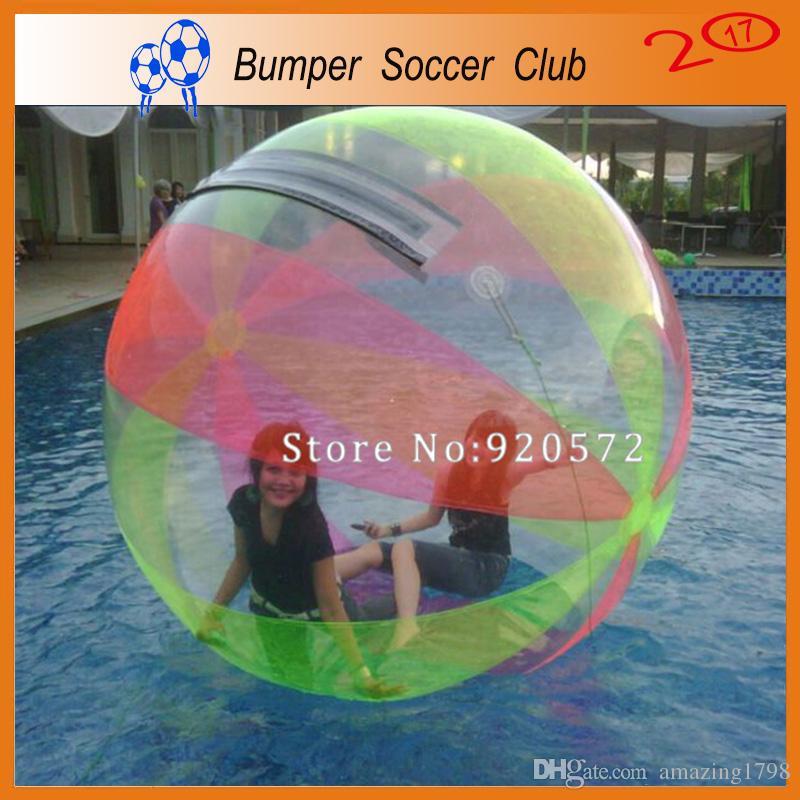 الشحن مجانا مصنع شفاف المشي على كرة الماء ، نفخ المياه المشي الكرة ، zorb الكرة ل تجمع المياه