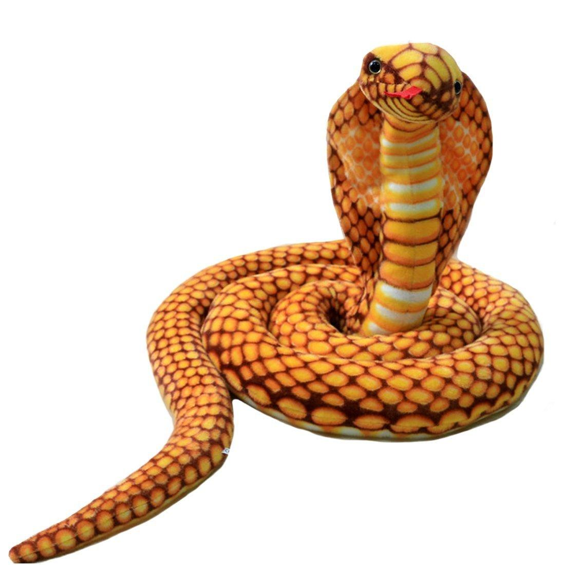 9 Foot Long Big Snake Stuffed Animal Plush toy Realistic Stuffed Giant Boa Constrictor Dolls