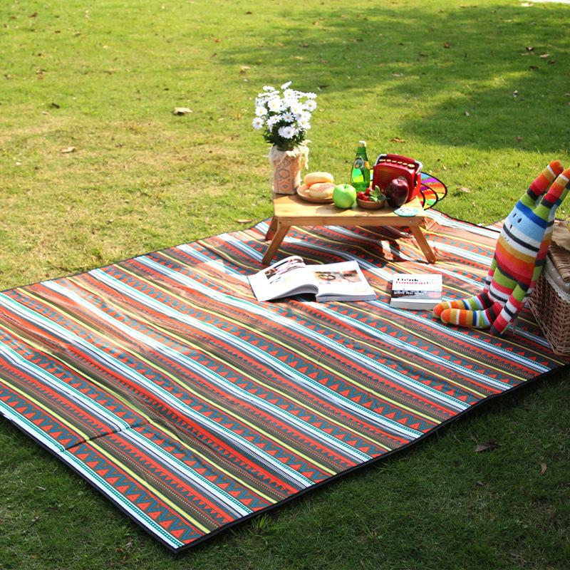 Camping Randonnée Voyage Picnic Couchage OUTDOOR Beach Mat Pad Coussin Isolation 17