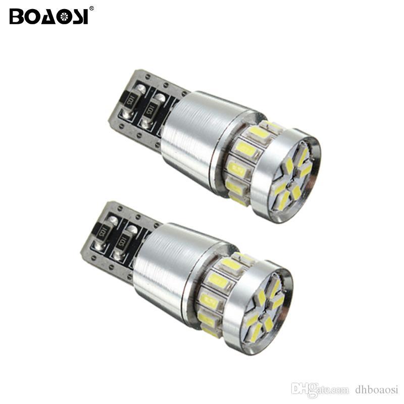 Lumineux T10 canbus led ampoules 18smd 3014 SMD Intérieur Lampe auto clearance queue led led stationnement arrêt indicateur lumières ampoule