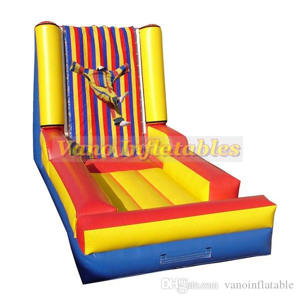 Compre 4x3x3m Human Sticky Wall Inflable Para Ninos Y Adultos Jumper