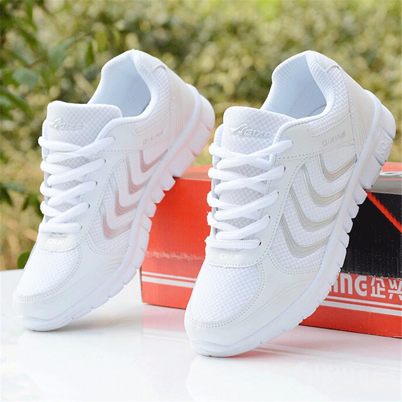 Hot 2018 Women Sneakers Breathable