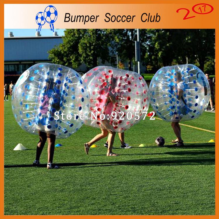 Free Shipping 1.5m Inflatable Clear Human Hamster Ball Soccer Bubble Bumper Ball Zorb Ball For Football