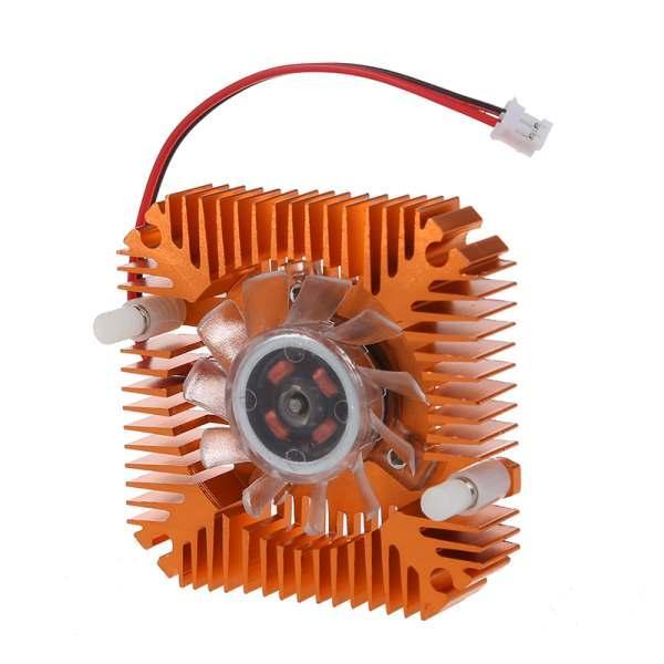 Freeshipping 5 * PC Dizüstü CPU VGA Video Kartı 55mm Soğutucu Soğutma Fanı Soğutucu