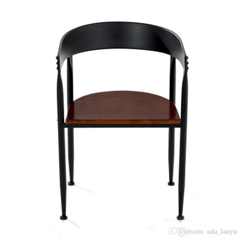 Acheter Iron Art Vintage Chaise Industries Style Fauteuil Logo