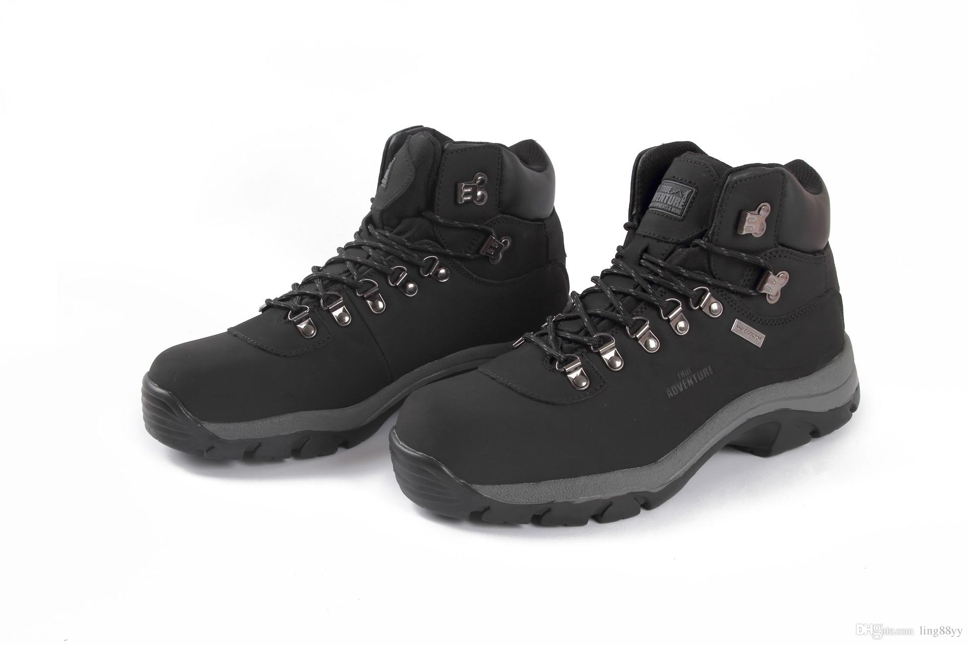 627c1223b9e Winter Men Outdoor Hunting Jungle Genuine Leather Men Shoes Warm Wear  Resisting Boots Hiking Shoes Men Camping Training Boots Black Boots Boots  ...