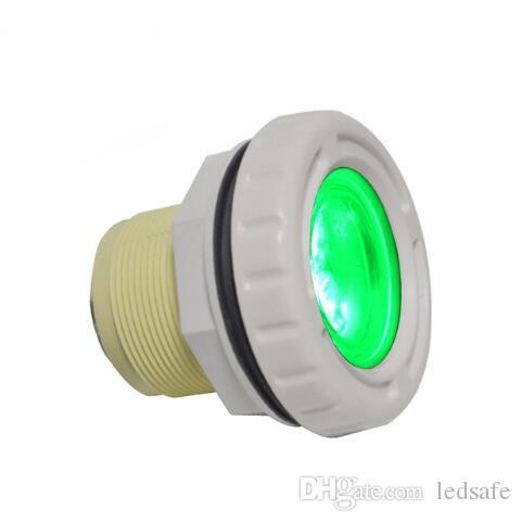 أضواء تحت الماء LED IP68 SPA حمام سباحة مصباح 3W 9W للبطانة نافورة ملموسة امب 12V RGB أضواء اللون CE روش FCC
