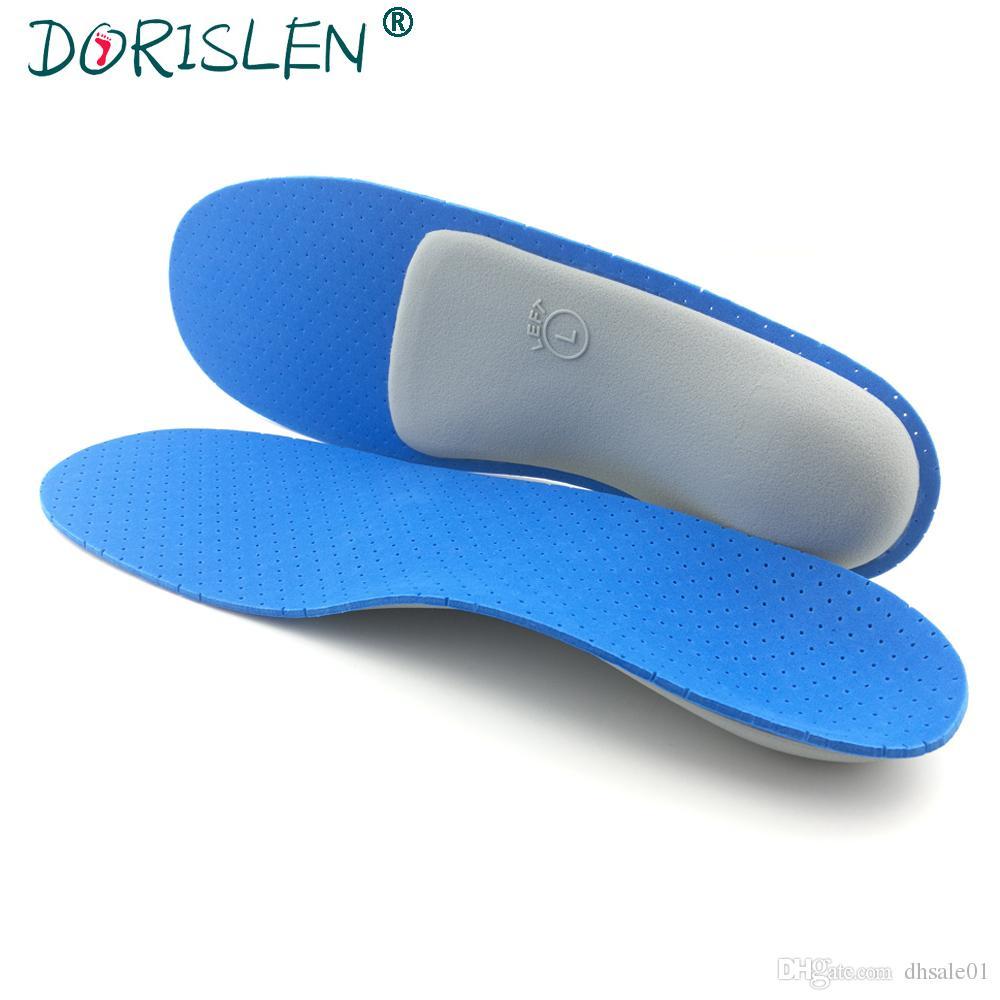 Nuevo Orthotic Arch Support Plantilla Flat Foot Relief Dolor Foot Care Almohadillas de Zapatos Hombre Mujer