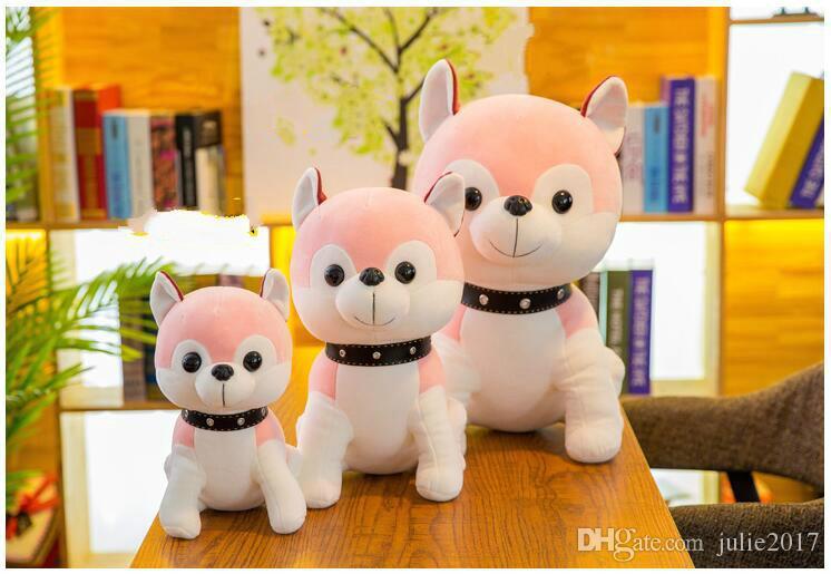 New Style Lovely Husky Dog Plush Toy Stuffed Animal Dog Soft Plush Doll Children Birthday Gift